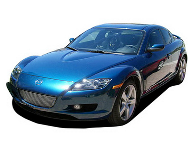 viogi fit 04 08 mazda rx 8 rx8 bumper billet grille. Black Bedroom Furniture Sets. Home Design Ideas