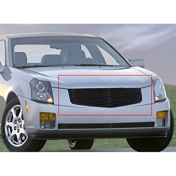 viogi fit 03 07 cadillac cts black billet grille insert ebay. Black Bedroom Furniture Sets. Home Design Ideas