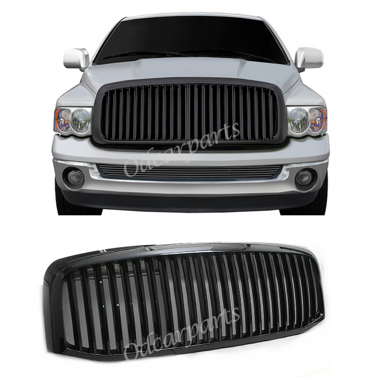 2006 2009 Dodge Ram 1500 Sinister Black 06 08 Ram 2500: 06-08 Ram 1500 06-09 2500/3500 Pickup Vertical Sport Black