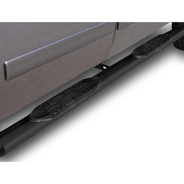 "Smittybilt 3 Nerf Bar Running Boards 2006 08 Dodge Ram: Fit:04-08 FORD F150 SUPER CREW CAB 4""OVAL BLACK SIDE STEP"