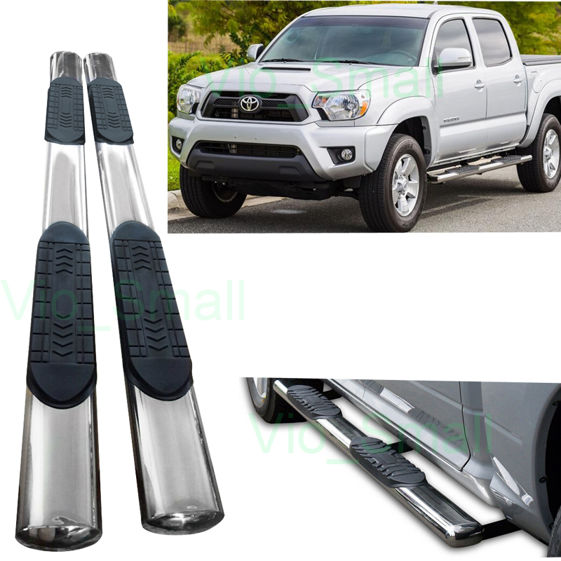 Side Step Bar For 2014 Toyota Tacoma Double Cab
