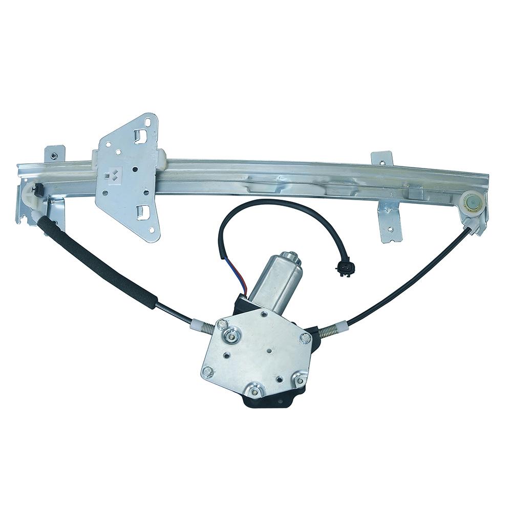 Car window regulator right side rear w motor for durango for 2000 dodge durango window regulator