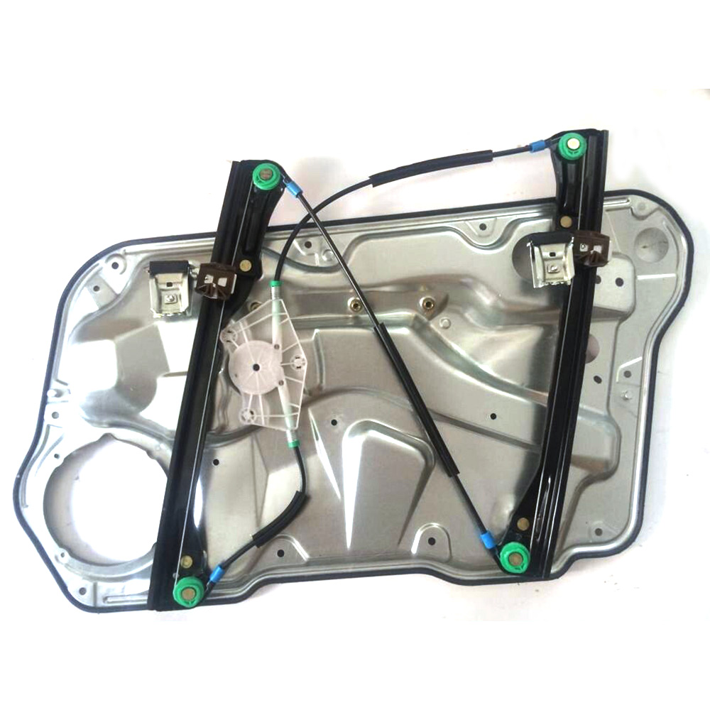 Front driver side power window regulator panel w o motor for 2000 jetta window regulator