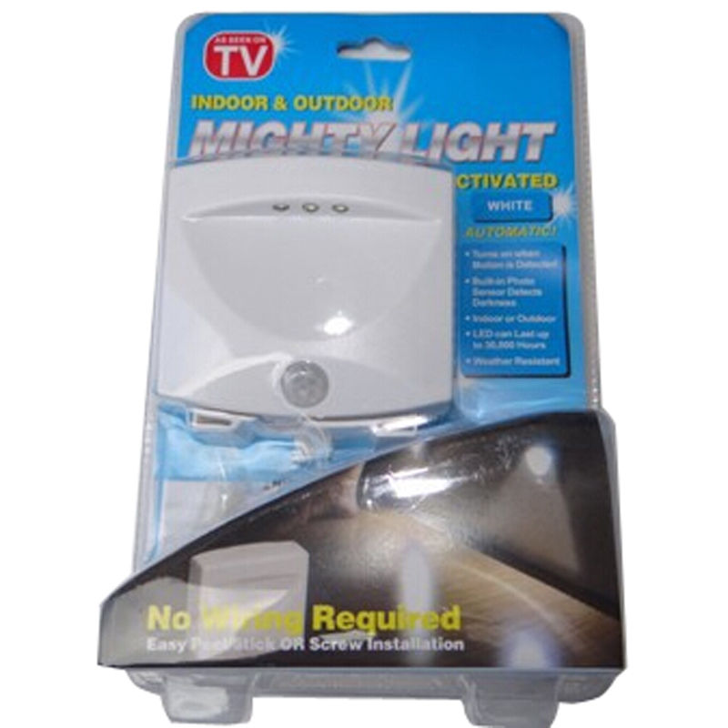 Http Ebay Com Itm Mighty Light As Seen On Tv Indoor Outdoor Motion Sensor Night Activated 3 Led 251884445325