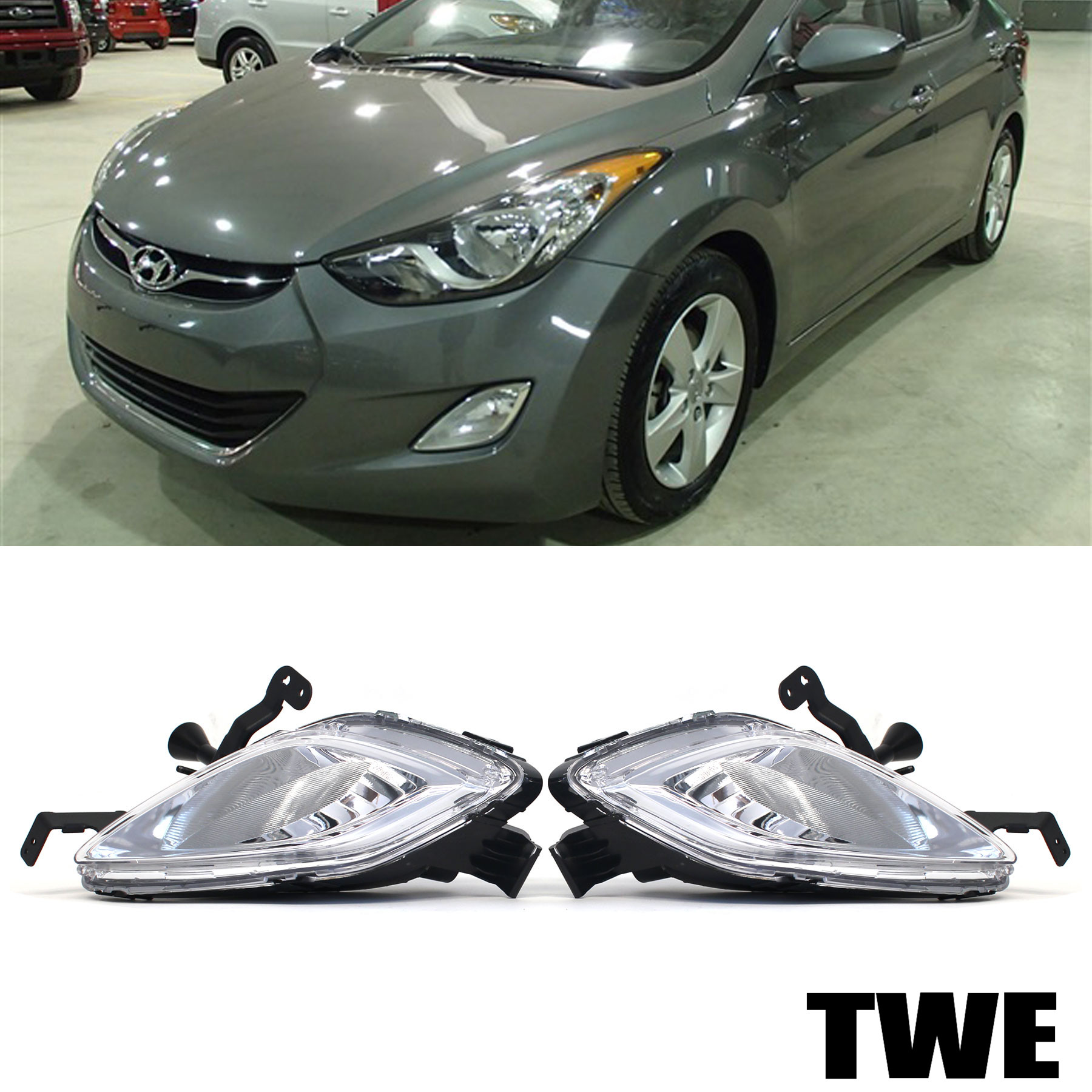on 2013 Hyundai Elantra Light Bulbs