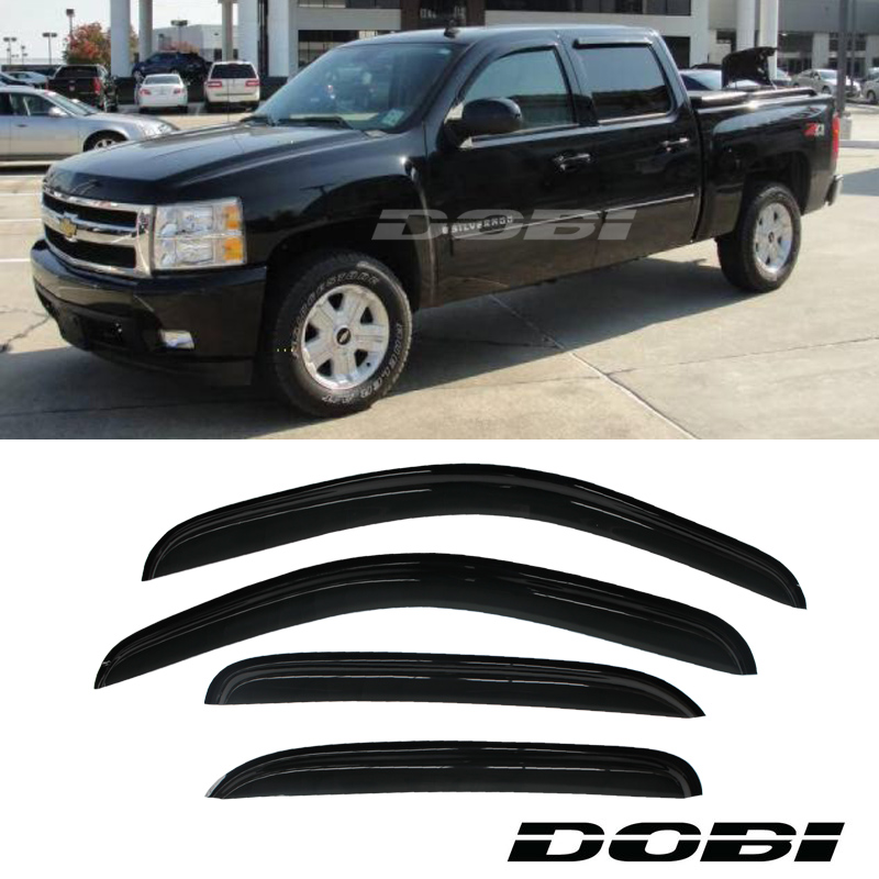 Vent Window Visor Silverado/Sierra Crew Cab For Avalanche