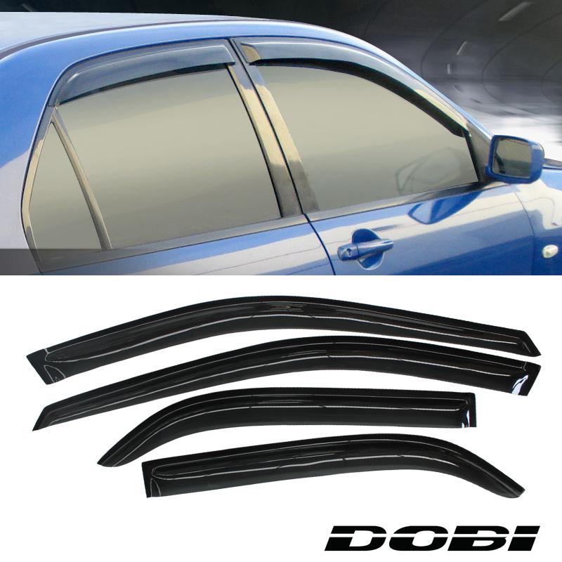 Dobi sun rain guard vent shade window visors for 98 02 for 2002 honda civic rear window visor